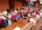Alumnos y alumnas de Infantil del CEIP Mastia, de Cartagena