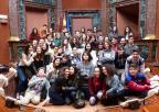 Alumnos y alumnas del IES Diego Tortosa, de Cieza