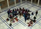 Alumnos y alumnas del CEIP La Pedrera, de Yecla