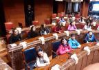 Alumnos y alumnas del CEIP Pérez Villanueva, de Cehegín