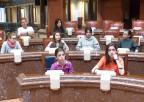 Alumnos y alumnas del CEIP San Cristóbal, de Aledo