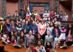 Alumnos y alumnas del CEIP Ginés Diáz-San Cristóbal, de Alhama de Murcia