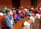 Alumnos y alumnas del C.R.A. Río Argos, de Cehegín