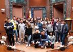 Alumnos y alumnas del C.C. San Vicente de Paúl, de Cartagena