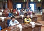 Alumnos y alumnas del C.E.I.P. San Antonio Abad, de Cartagena