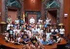 Alumnos y alumnas del CEIP Los Álamos, de Murcia