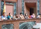Alumnos y alumnas del CEIP La Cruz, de Totana