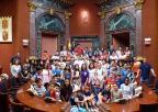 Alumnos y alumnas del CEIP María Maroto, de Murcia