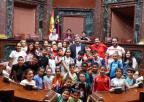 Alumnos y alumnas del CEIP La Asomada, de Cartagena