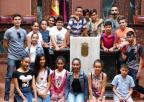 Alumnos y alumnas del CEIP San Juan Bautista, de Alquerías, Murcia