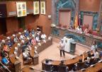 Alumnos y alumnas del CEIP San José de Calasanz, de Murcia