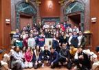 Alumnos y alumnas del Colegio Hispania, de Cartagena