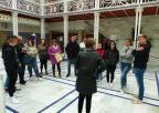 Alumnos y alumnas del IES La Flota, de Murcia