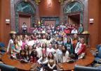 Alumnos y alumnas del CEIP San Fernando, de Lorca
