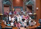 Alumnos y alumnas del CEIP Antonio Buitrago Gómez, de Cieza