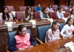 Alumnos y alumnas del CEIP Al-Kazar, de Los Alcázares