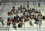 Alumnos y alumnas del CEIP Emilio Candel, de Archena