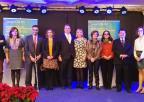 La presidenta de la Asamblea, Rosa Peñalver, ha acompañado a ONCE Región de Murcia en la celebración de su patrona, Santa Lucía