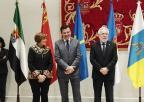La presidenta de la Asamblea Regional, Rosa Peñalver, con otros presidentes y presidentas de Parlamentos autonómicos