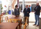 La presidenta de la Asamblea, Rosa Peñalver, ha visitado la Hospitalidad Santa Teresa