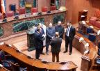 Una delegación del Ministerio de Justicia de Túnez visita la Asamblea