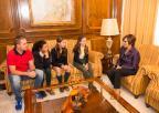 Recepción de las ED Robotic Girls, campeonas de España en las Olimpiadas de Robótica